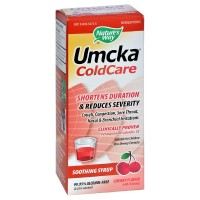 Nature's Way Umcka Cold Care Soothing Syrup, Cherry Flavor 4 oz [033674152737]