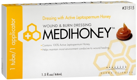 Derma Sciences MEDIHONEY Wound & Burn Dressing 1.50 oz [809958033616]
