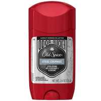 Old Spice Hardest Working Collection Odor Blocker Antiperspirant & Deodorant, Steel Courage 2.6 oz [037000971443]