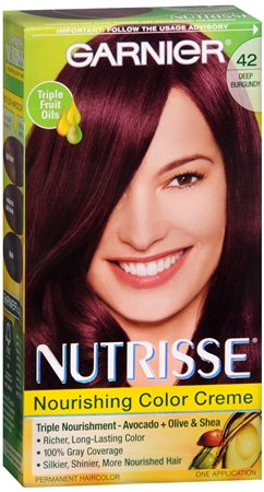 Nutrisse Haircolor - 42 Black Cherry (Deep Burgundy) 1 Each [603084244140]