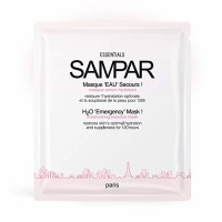 SAMPAR - H2O 'EMERGENCY' MASK! - Highly moisturizing hydrogel Serum-Mask - All Skin Types - Cruelty-Free, 0.88 oz each 3 ea