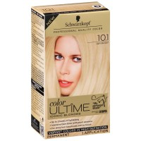 Schwarzkopf Color Ultime Iconic Blondes Hair Coloring Kit, Light Blonde [10.1] 1 ea [017000128207]