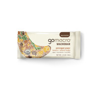 GoMacro Macrobar, Prolonged Power, 1.9 oz bars, Banana + Almond Butter 12 bars [181945000154]