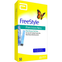 FreeStyle Precision Neo Blood Glucose Test Strip 50 ea [093815715795]