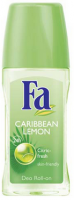 FA Hour Roll-On Deodorant, Caribbean Lemon 1.7 oz [4015000280211]