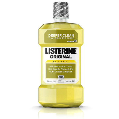 Listerine Original 500 mL [312547701310]