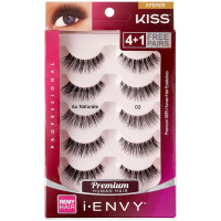 KISS I Envy Au Naturale 02 Value Pack 4+1 Lashes 1 ea [731509675429]