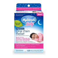 Hyland's Baby Nighttime Oral Pain Relief, 125 ea [354973332416]