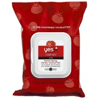 Yes to Tomatoes Blemish Clearing Facial Towelettes, Clear Skin Acne 25 ea [813866019860]