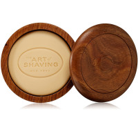 The Art of Shaving Shaving Soap with Wooden Bowl Sandalwood Essential Oil 3.3 oz [670535450030]