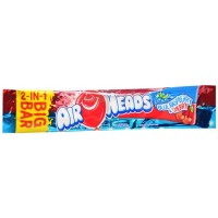 Airheads 2-in-1 Big Bar Candy Blue Raspberry & Cherry 24ct [073390010553]