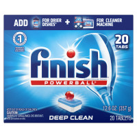 Finish All in 1 Powerball Fresh, Dishwasher Detergent Tablets 20 ct [051700770502]