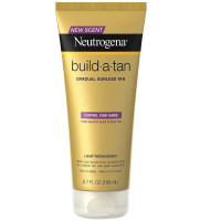 Neutrogena Build A Tan Gradual Sunless Tanning, Light Fresh Scent 6.70 oz [086800110699]