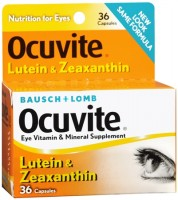 Bausch & Lomb  Ocuvite Lutein Capsules 36 Capsules [324208403198]