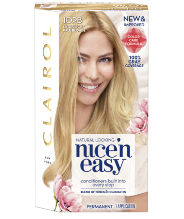 Nice 'n Easy Permanent Color [10PB] Extra Light Pale Blonde 1 ea [070018093943]