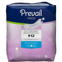 Prevail Moderate Absorbency Incontinence Bladder Control Pads, Long -  54 ea  [090891600762]