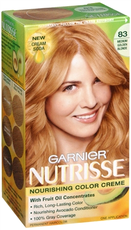 Nutrisse Haircolor - 83 Cream Soda (Medium Golden Blonde) 1 Each [603084027361]