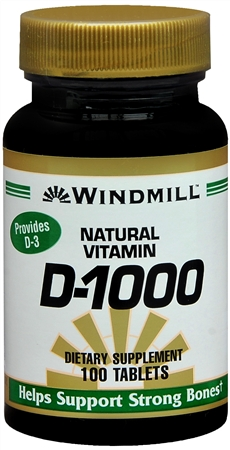 Windmill D-1000 Tablets 100 Tablets [035046001056]
