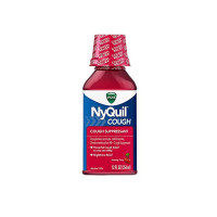 Vicks Nyquil Nighttime Cough Relief Liquid, Cherry 12 oz [323900014329]