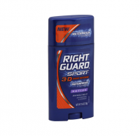 Right Guard Sport 3D Odor Defense Anti-Perspirant Deodorant, Invisible Solid, Active 2.6 oz [017000068169]