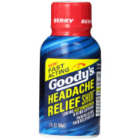 Goody's Headache Relief Shot, Berry 2 oz [042037105235]