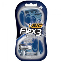 BiC Flex 3 for Men, Disposable Shaver, 4 ea [070330724549]