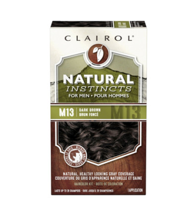 Natural Instincts For Men Haircolor M13 Dark Brown 1 Each [070018042750]