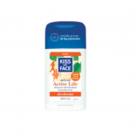 Kiss My Face Natural Active Life Aluminum Free Deodorant Stick, Sport 2.48 oz [028367839415]