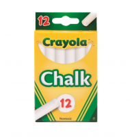 Crayola Chalk, White 12 ea [071662003203]