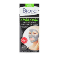 Biore Self Heating One Minute Mask 4 ea [019100194311]