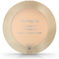 Neutrogena Mineral Sheers Powder Foundation, Nude [40] 0.34 oz [086800005544]