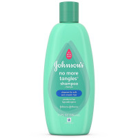 JOHNSON'S Baby No More Tangles Shampoo, 13 Fl oz [381370043485]