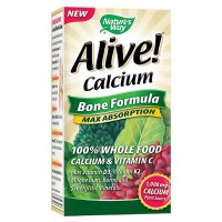Nature's Way Alive! Calcium Bone Formula 60 ea [033674158388]