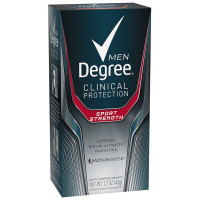 Degree Clinical + Anti-Perspirant & Deodorant Solid, Sport Strength 1.70 oz [079400206954]