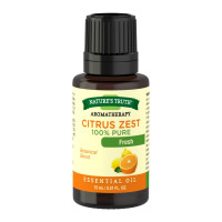 Nature's Truth Aromatherapy 100% Pure Essential Oil Citrus Zest, 0.5 oz [840093107930]