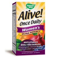 Nature's Way Alive! Once Daily Women's Ultra Potency Multivitamin & Whole Food Energizer Tablets 60 ea [033674156865]