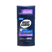 Right Guard Sport Active 48 HR Odor Protection Anti-Perspirant Deodorant, 2.6 oz  [017000068169]