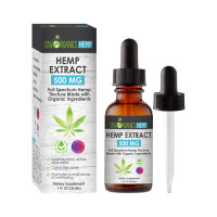 SPE Hemp Extract 500 mg Tincture 1 oz [191897535215]