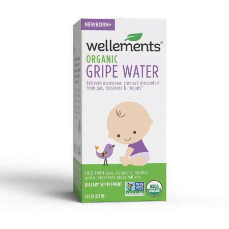 Wellements Gripe Water For Colic 4 oz [729609019656]