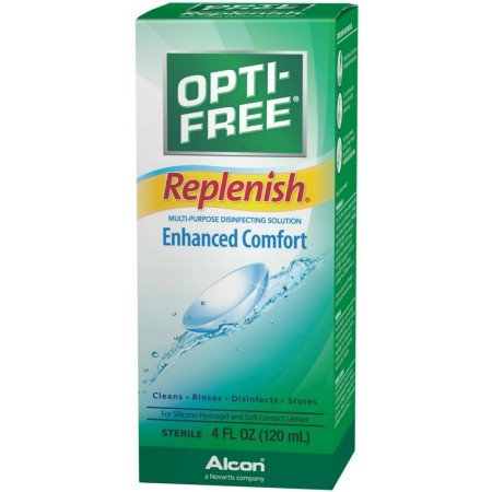 OPTI-FREE Replenish Multi-Purpose Disinfecting Solution 4 oz [300650356046]