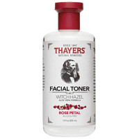 Thayers Witch Hazel Aloe Vera Formula Alcohol-Free Toner, Rose Petal 12 oz [041507070035]