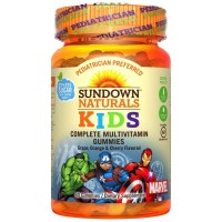 Sundown Kids Marvel Avengers Complete Multivitamin Gummies 60 ea [030768684556]