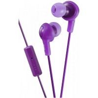 JVC Gumy Plus In-Ear Headphones with Remote & Mic, Violet 1 ea [046838065965]