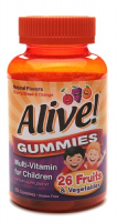 Alive Multi-Vitamin Gummies for Children 60 Each [033674157886]