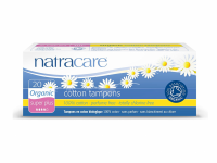 Natracare Organic Cotton Tampons, Super Plus 20 ea [782126002020]