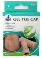 Oppo Gel Toe & Finger Cap, Large [6704] 2 Pack [4711769145883]