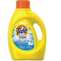 Tide  Simply Clean and Fresh Laundry Detergent, Refreshing Breeze 100 oz [037000891291]