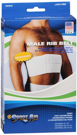 Sport Aid Rib Belt Male Universal 1 Each [763189110204]