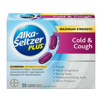 Alka-Seltzer Plus Cough & Cold Liquid Gels 20 ea [016500555353]