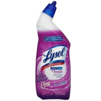 Lysol Power & Fresh Cling Toilet Bowl Cleaner, Lavender, 24 oz [019200838030]